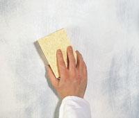 Essuyage pour un effet natural de la peinture