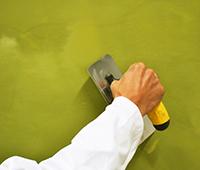 Ferrage au platoir Inox de la peinture