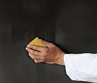 La peinture aspect fer rouillé